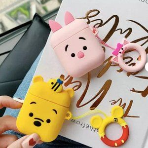 Cute 3D Animated Cartoon Protective Airpod Case